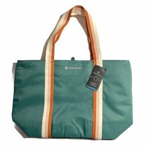 Keepcool Shopping Cooler Bag Large Capacity Green